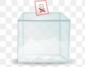 Box - Ballot Box Opinion Poll Voting Clip Art PNG