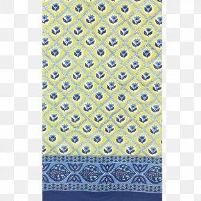 Tablecloth - Cobalt Blue Turquoise Aqua Teal PNG