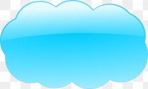 Cloud - Sky Cloud Blue Clip Art PNG