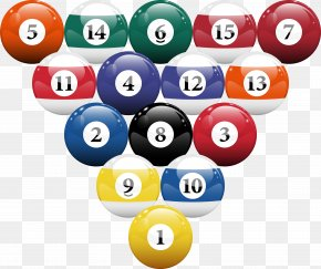 Billiard Balls - Pool Billiard Ball Billiards Billiard Table PNG