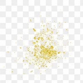 Gold Particles - Light Particle PNG