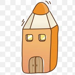Pencil Cabin - Pencil PNG