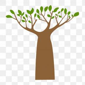 Plant Stem Hand - Tree Branch Leaf Clip Art Plant PNG
