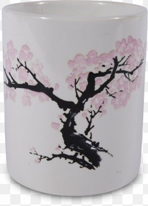 Ink Drawing Irregular Gravel 19 2 1 - National Gallery Of Art Mug Coffee Cup Cherry Blossom PNG