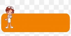 Tips Nurse Orange Vector - Text Human Behavior Clip Art PNG