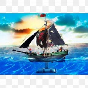 Pirate Ship - Playmobil Radio Control Piracy Ship Radio-controlled Submarine PNG