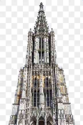 Church - Ulm Cathedral Samsung Galaxy S6 Steeple Wallpaper PNG