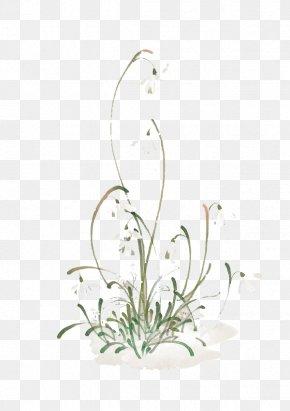 Watercolor Flowers - Floral Design Flowerpot Pattern PNG