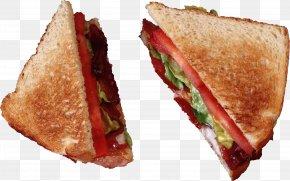 Sandwich Image - Hamburger Bacon Sandwich BLT PNG