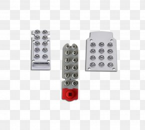 Electronic Lock - Electronic Lock Electronics Door Push-button PNG