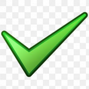 Green Tick - Check Mark Checkbox Clip Art PNG