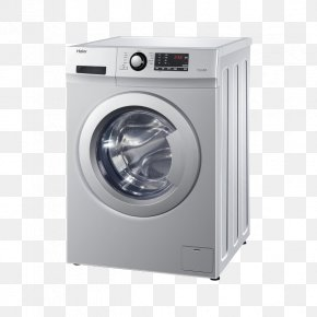 Full Automatic Large Capacity Drum Washing Machine - Washing Machine Clothes Dryer Haier Home Appliance PNG
