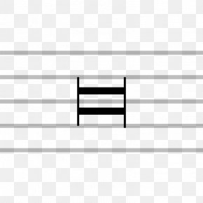 Musical Notation - Musical Notation Double Whole Note Longa Note Value PNG