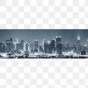 Panorama - Lower Manhattan Skyline Photography Royalty-free Wallpaper PNG