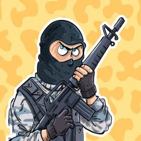 Swat - SWAT Cartoon Firearm PNG