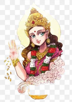 Vector Sulye - Shiva Shailaputri Hinduism Deity Brahmacharini PNG
