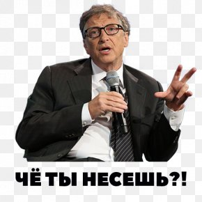 Bill Gates - Bill Gates YouTube Motivational Speaker Sticker Clip Art PNG