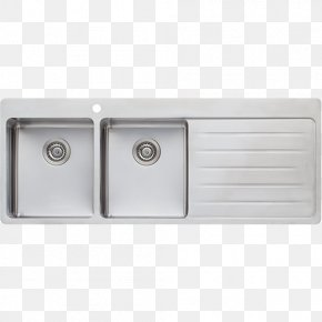Sink - Kitchen Sink Tap Stainless Steel Bowl Sink PNG