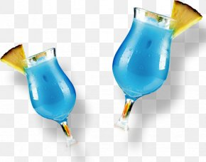Cocktail - Cocktail Garnish Blue Hawaii Non-alcoholic Drink PNG