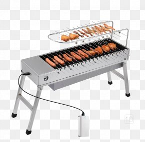 Travel Charcoal Grill Oven - Barbecue Steak Grilling Charcoal Smoking PNG