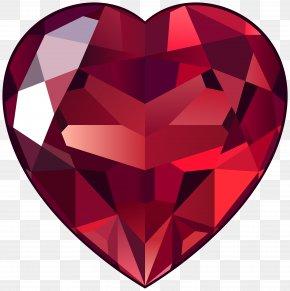Ruby - Diamond Ruby Gemstone Clip Art PNG