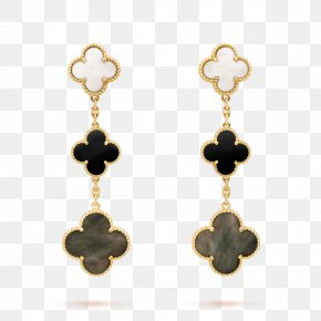 Necklace - Earring Van Cleef & Arpels Necklace Jewellery Gold PNG