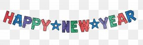 Happy New Year PNG Transparent Images - New Year's Day New Year's Eve Banner Clip Art PNG