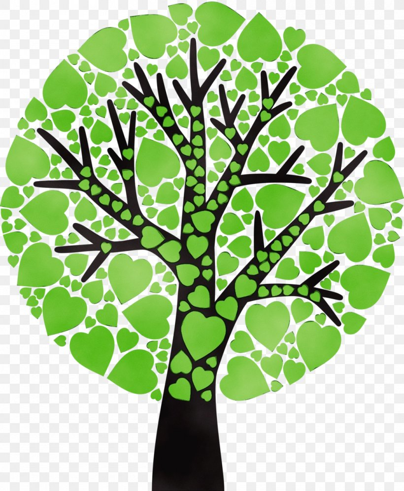 Green Leaf Tree Plant Clip Art, PNG, 1051x1280px, Watercolor, Branch, Green, Leaf, Paint Download Free