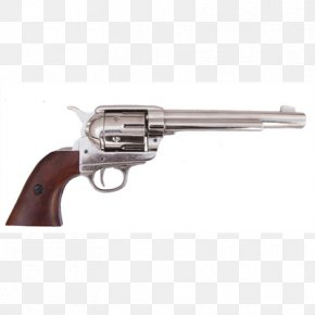 United States - Colt Single Action Army Revolver .45 Colt Firearm United States PNG