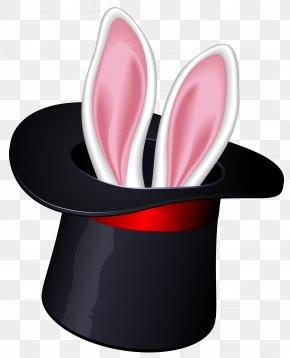 Magic Tophat Clipart - Magic Hat-trick Wand Clip Art PNG