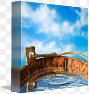 Bucket Of Water - Wood Water Resources Stock Photography Varnish PNG