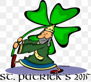 Saint Patrick's Day - Saint Patrick's Day T-shirt Leaf Cartoon Clip Art PNG