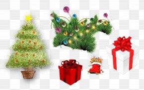 Christmas Gift - Christmas Tree Christmas Gift Christmas Decoration PNG