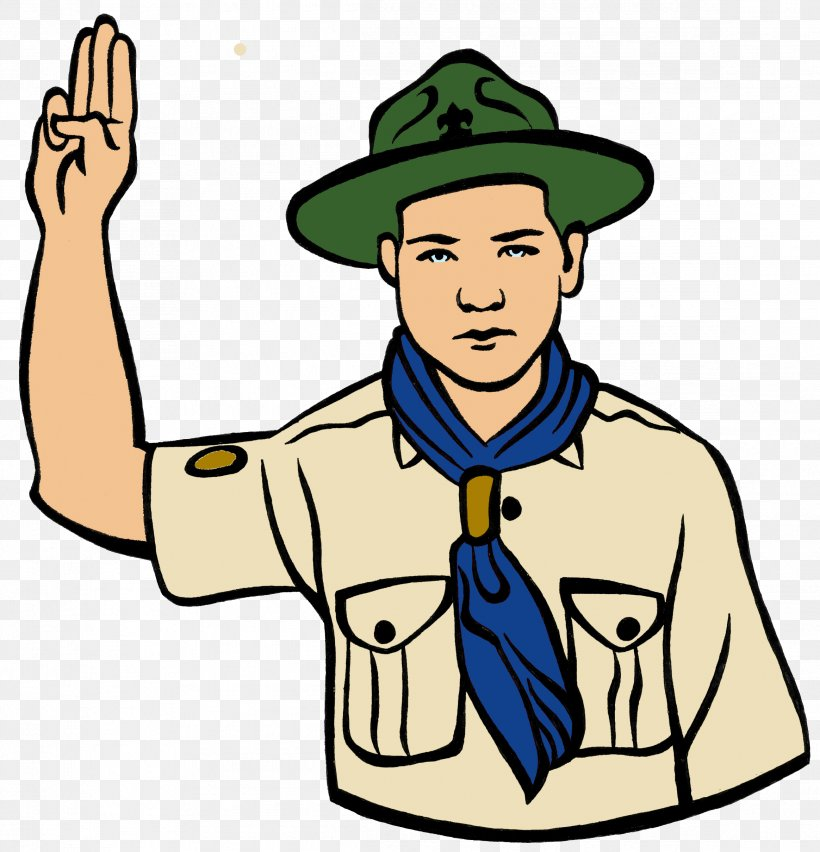Cartoon little boy scout vector image on VectorStock   Cartoon boy, Boy  scouts, Scout