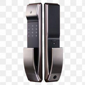 Home Smart Lock - Combination Lock Fingerprint Door Smart Lock PNG