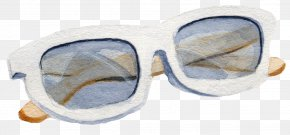 Hand-painted Glasses - Goggles Sunglasses PNG