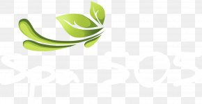 Leaf - Leaf Logo Green Desktop Wallpaper PNG