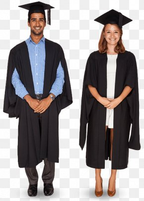 Bachelor Gown - Robe Graduation Ceremony Cape Academic Dress Master's Degree PNG