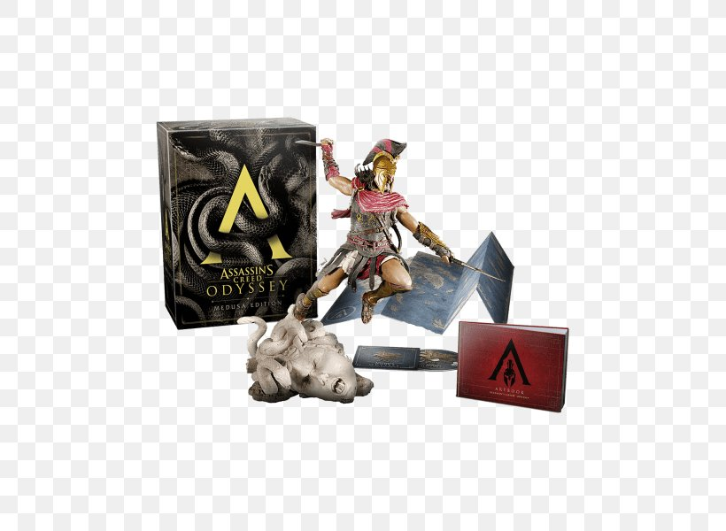 Assassin's Creed Odyssey Assassin's Creed: Origins Medusa PlayStation 4 Video Games, PNG, 600x600px, Medusa, Action Figure, Figurine, Gamestop, Gorgon Download Free