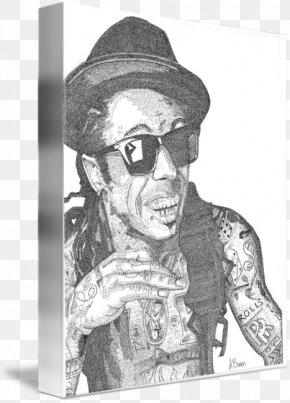 Lil Wayne - Drawing Visual Arts Glasses Human Behavior PNG