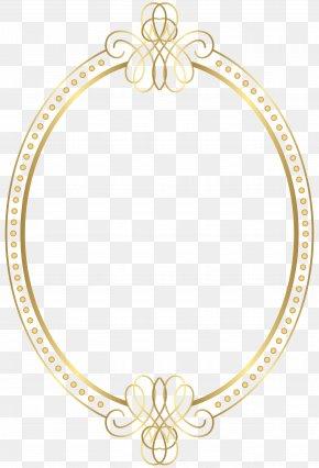 Border Frame Gold Transparent Clip Art - Picture Frame Clip Art PNG