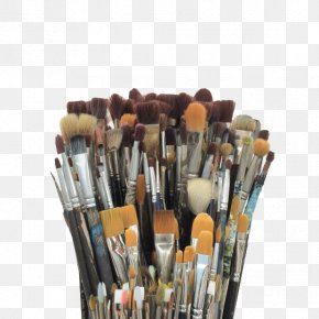 Makeup Brushes - Visual Arts Collage Photography PNG