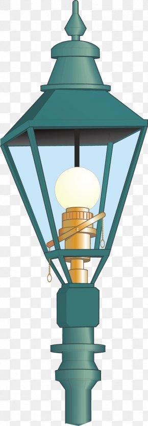 Hand-painted Street Light - Street Light Lamp Electric Light PNG