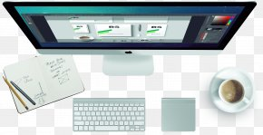 Imac Top - Computer Monitor Accessory Computer Monitors Graphics Output Device Electronic Visual Display PNG