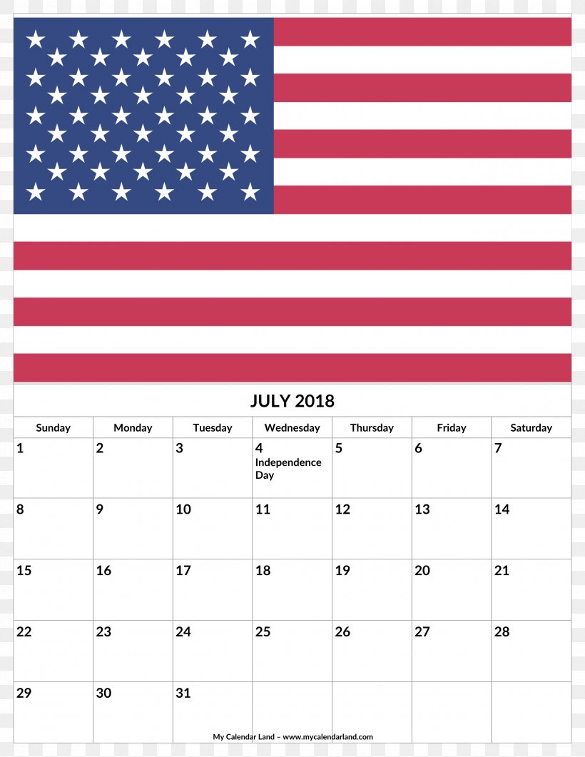 Flag Of The United States Independence Day Vector Graphics, PNG, 2550x3300px, United States, Area, Banner, Calendar, Decal Download Free