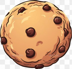 Cartoon Chips - Chocolate Chip Cookie Chocolate Brownie Biscuits Muffin PNG