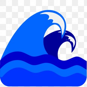 Blue Wave - Wind Wave Sea Clip Art PNG
