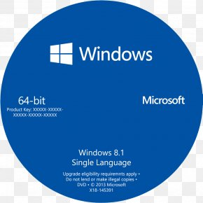 Windows CD Cover Transparent Background - Windows 10 64-bit Computing Microsoft Windows Windows 7 Product Key PNG