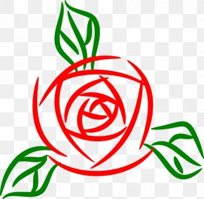 Rose Clip Art - Rose Black And White Clip Art PNG
