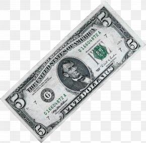 Money Image - United States Five-dollar Bill United States Dollar United States One-dollar Bill PNG
